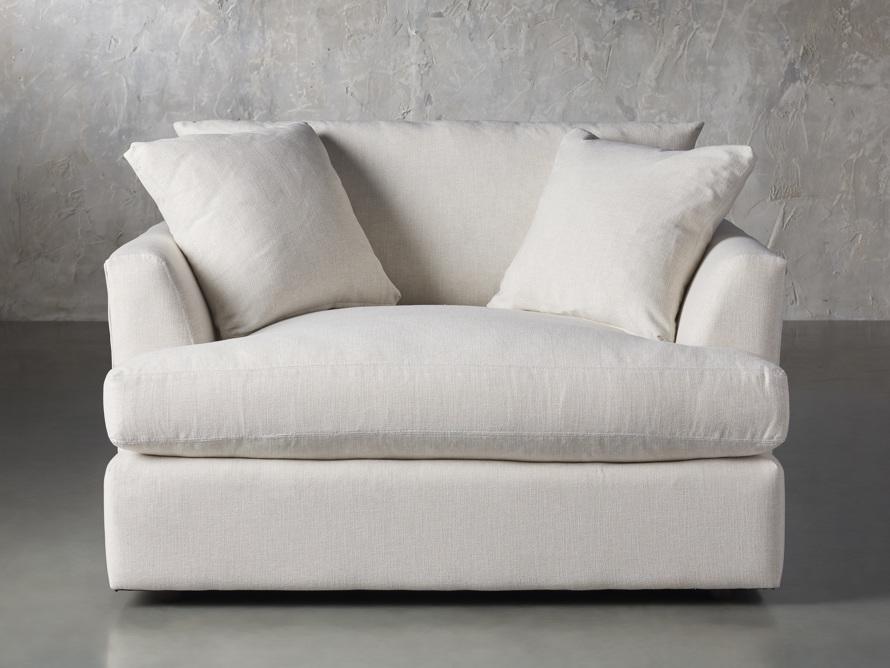 "Emory Upholstered 53"" Chair, slide 1 of 8"