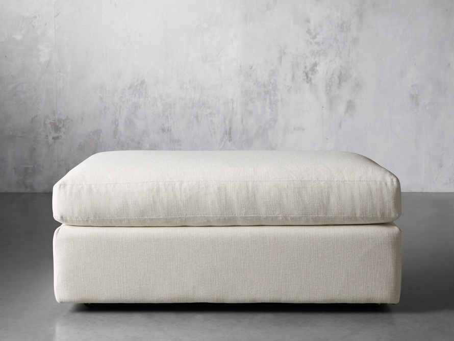 """Emory Upholstered 45"""" Ottoman, slide 1 of 5"""