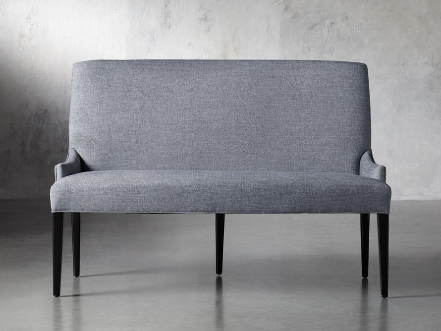"Rhen Upholstered 58"" Dining Bench, slide 1 of 8"