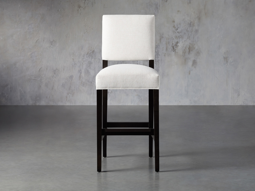 "Torino 19"" Upholstered Barstool, slide 1 of 8"