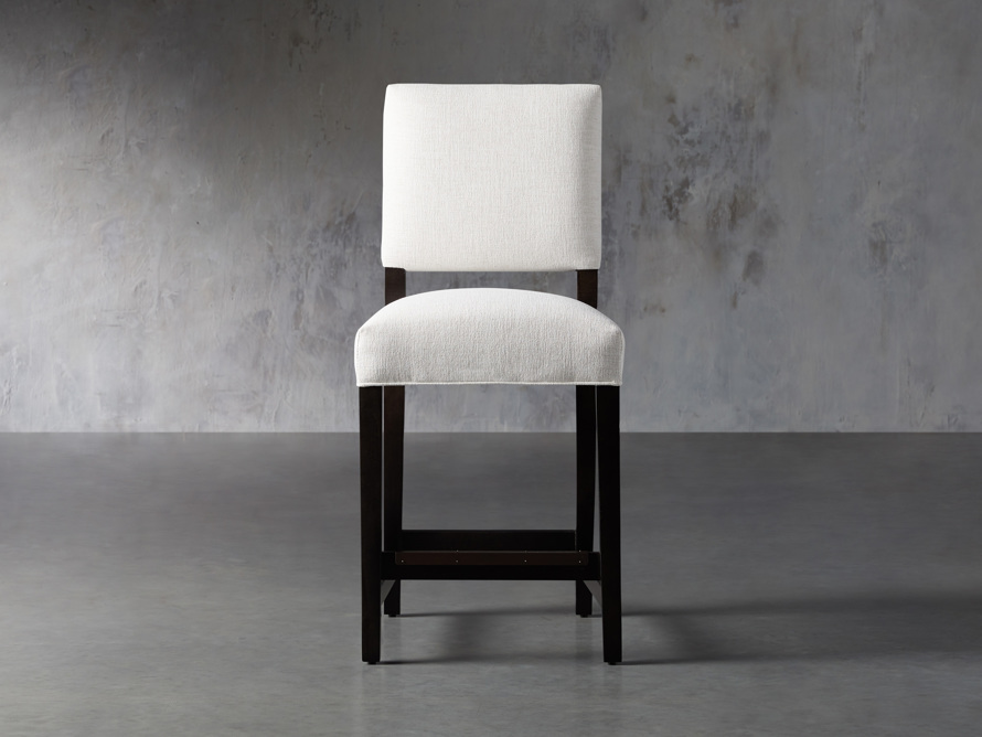"Torino 24"" Upholstered Counterstool, slide 1 of 7"