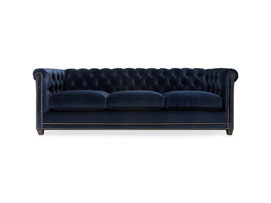 """VanGogh 98"""" Upholstered Tufted Sofa"""