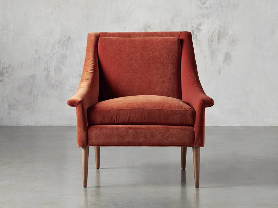 "Zella Upholstered 32"" Chair, slide 1 of 8"