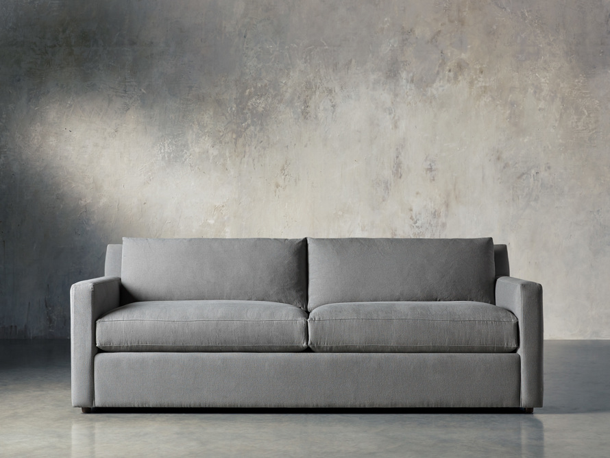 "Monroe Upholstered 95"" Sofa, slide 1 of 8"