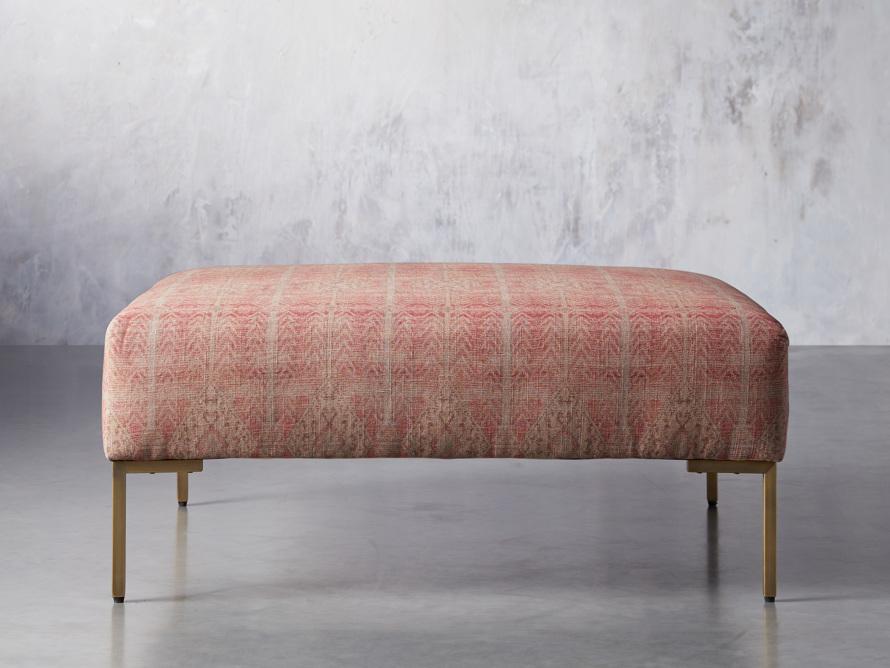 """Tilton Upholstered 40"""" Square Ottoman, slide 1 of 7"""