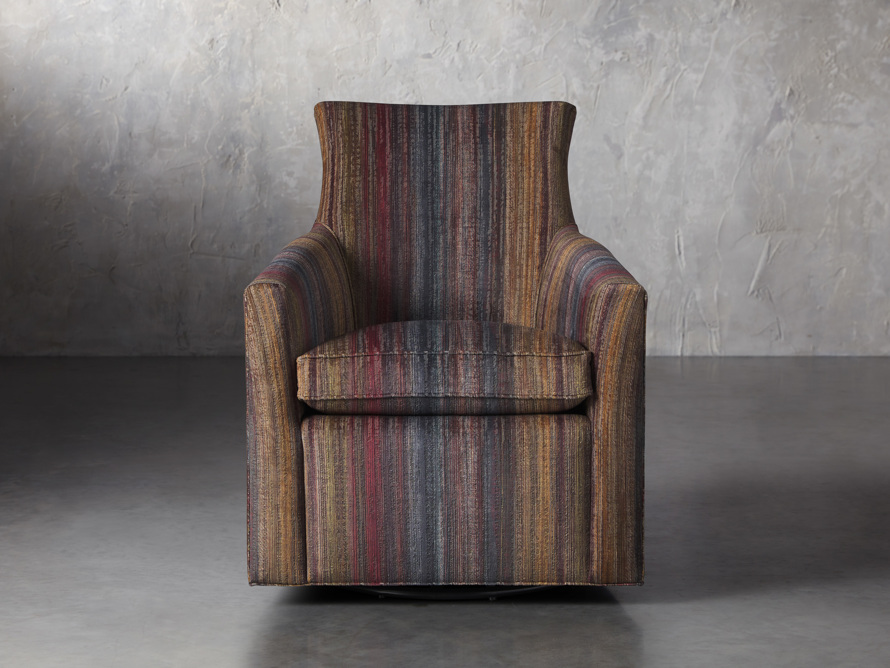 "Juniper Upholstered 29"" Swivel Chair, slide 1 of 6"