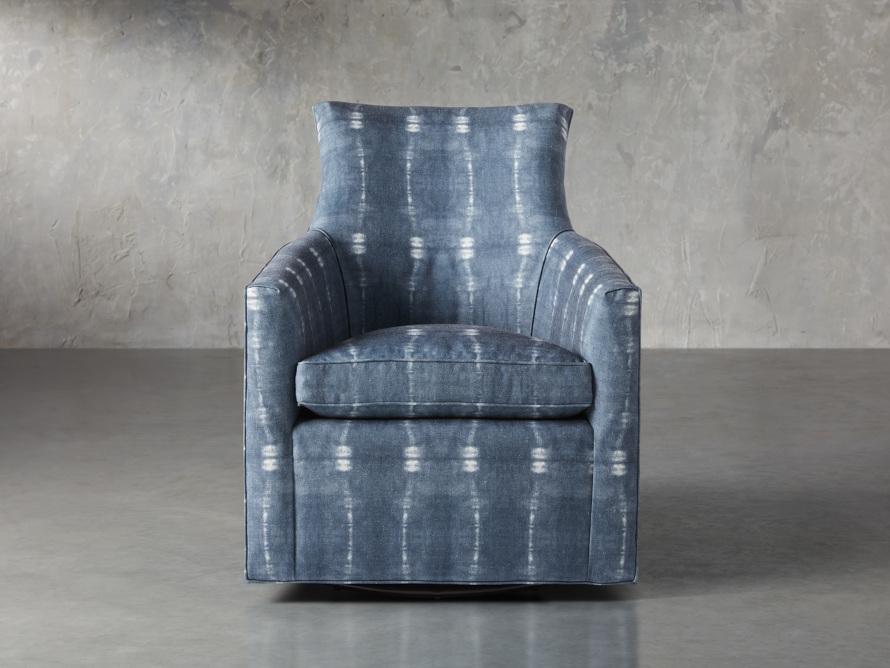 """Juniper Upholstered 29"""" Swivel Chair, slide 1 of 6"""