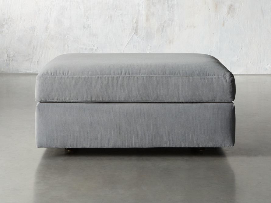 "Miles Upholstered 37"" Ottoman, slide 1 of 5"