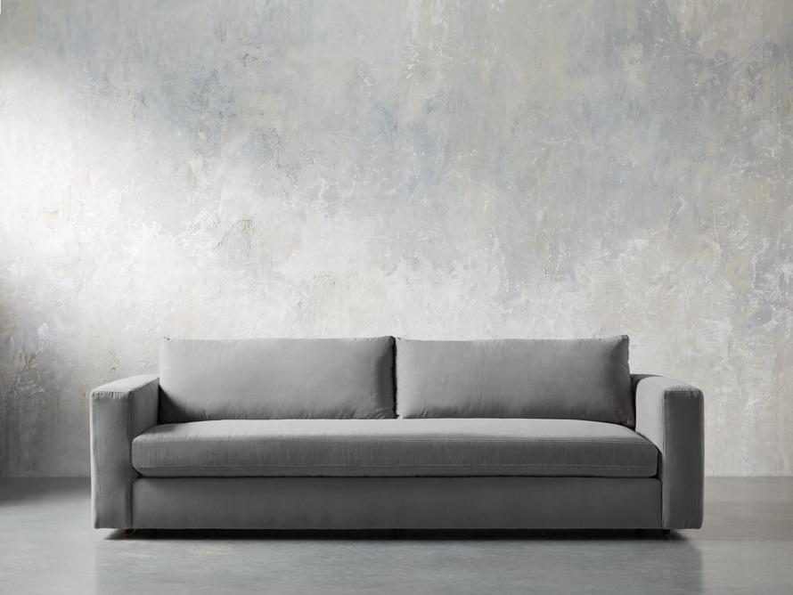 """Miles Petite Upholstered 108"""" Sofa, slide 1 of 11"""