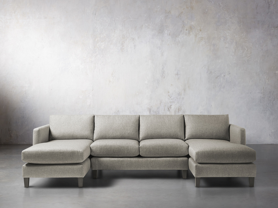 "Taylor 118"" Upholstered Three Piece Sectional"