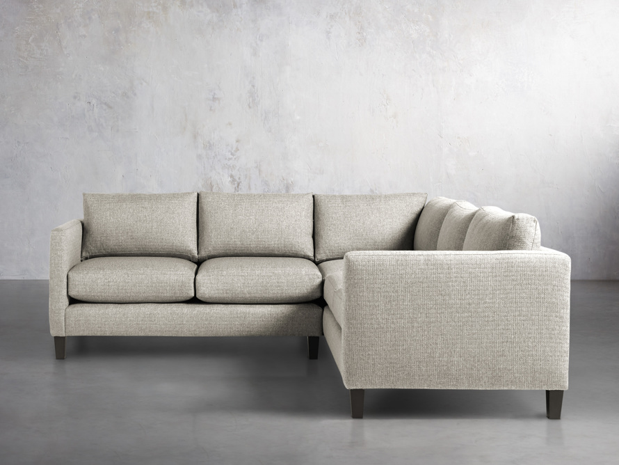 "Taylor 98"" Upholstered Two Piece Sectional in Howell Mist, slide 1 of 5"