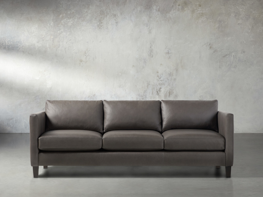 "Taylor 90"" Leather Sofa"