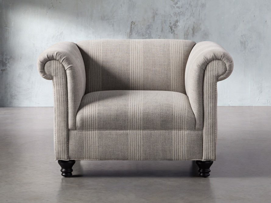 "Avery Upholstered 47"" Chair, slide 1 of 8"