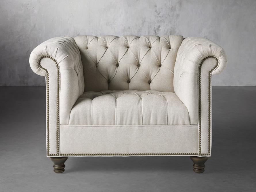 """Berwick Upholstered 47"""" Chair, slide 1 of 7"""