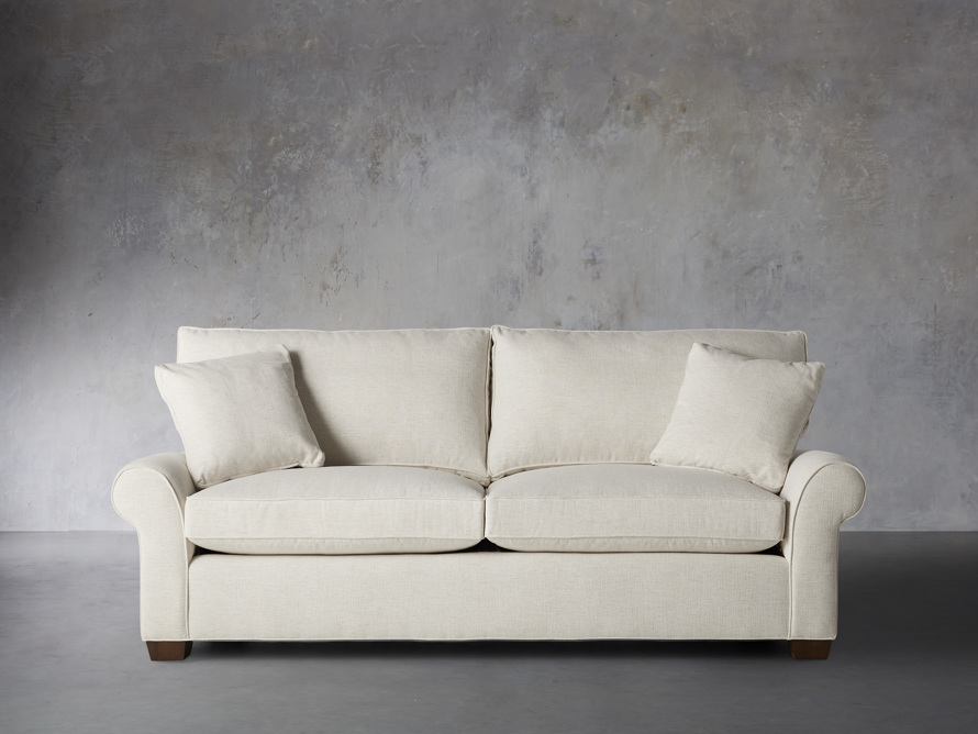 "Brentwood Upholstered 92"" Sofa, slide 1 of 8"