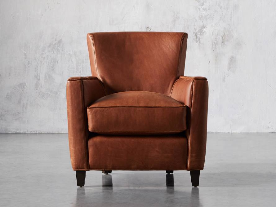 "Cotswold Leather 31"" Chair, slide 1 of 10"