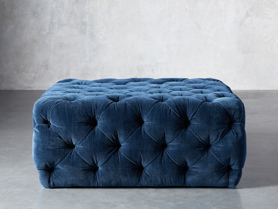 "Elsa Upholstered 42"" Ottoman, slide 1 of 6"