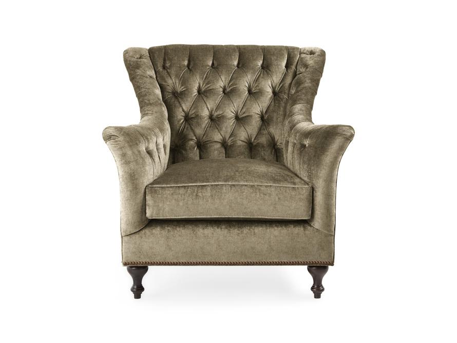 "Fiona Cushion Upholstered 40"" Haute Chair, slide 1 of 7"