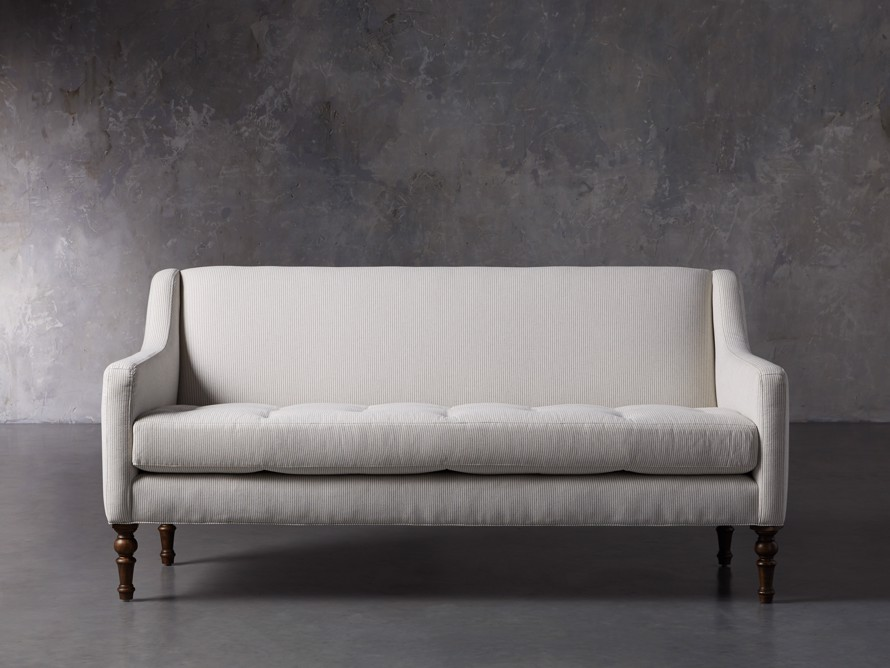 "Fenwick Upholstered 74"" Settee, slide 1 of 8"