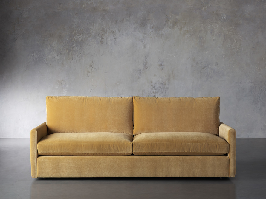 "Kipton Petite Upholstered 94"" Sofa, slide 1 of 9"