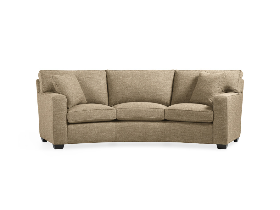 "Brentwood Square 107"" Upholstered Wedge Sofa, slide 1 of 6"