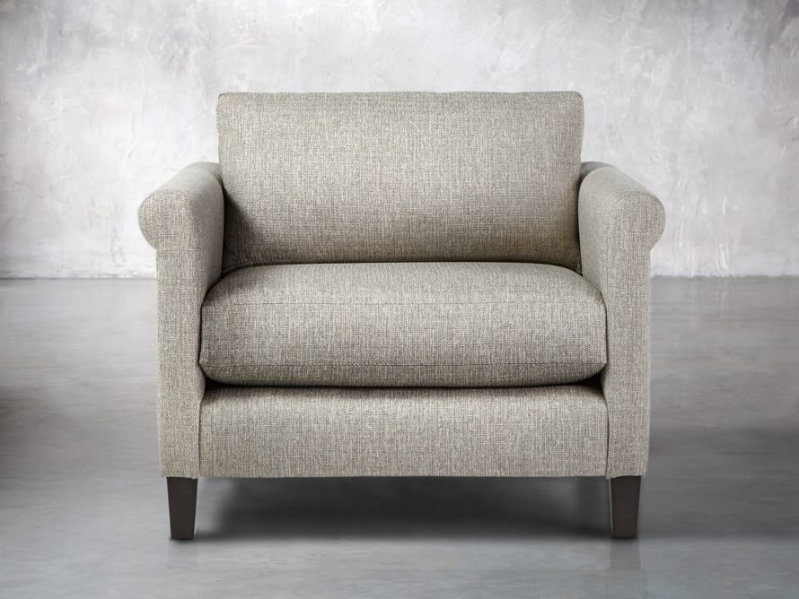 "Taylor Upholstered 42"" Rolled Arm Chair"