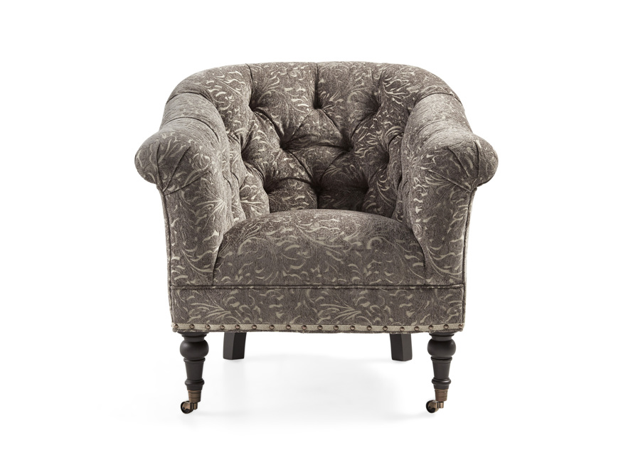 "Tangier Upholstered 33"" Chair, slide 1 of 8"