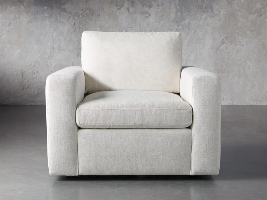 """Beale Upholstered 42"""" Chair, slide 1 of 8"""