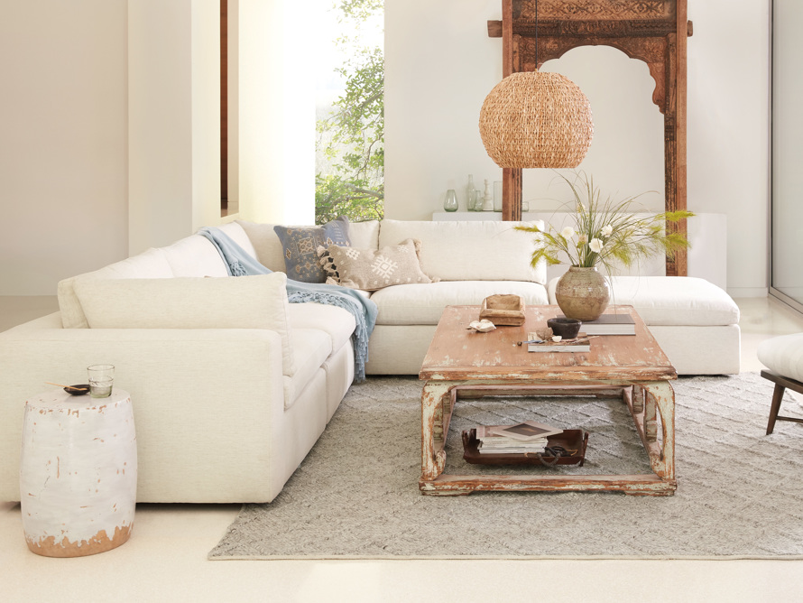 Beale Upholstered Left Arm Five Piece Sectional, slide 7 of 9