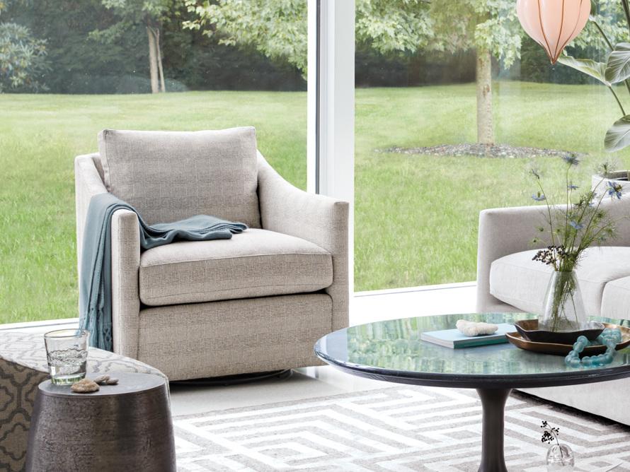 """Branson Upholstered 31"""" Swivel Chair, slide 8 of 10"""