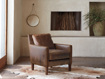 """Kenley Leather 33"""" Chair"""