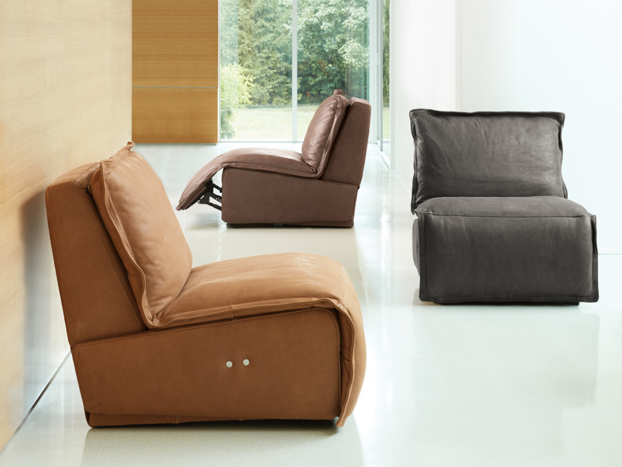 """Rowland Leather 43"""" Recliner, slide 9 of 12"""