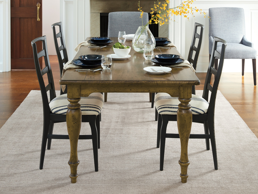 "Adriana 86"" Farmhouse Dining Table, slide 1 of 12"