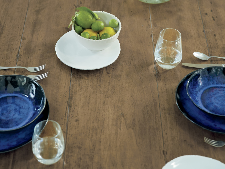 "Adriana 86"" Farmhouse Dining Table, slide 12 of 12"