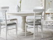 Allora Dining Chair in All White