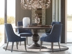 """Asolo 60"""" Worn Black Dining Table"""