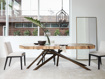 """Carrinna 96"""" Dining Table in Palografico"""