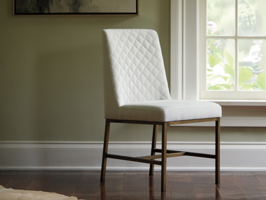 "Cava Upholstered 20"" Dining Side Chair, slide 1 of 11"