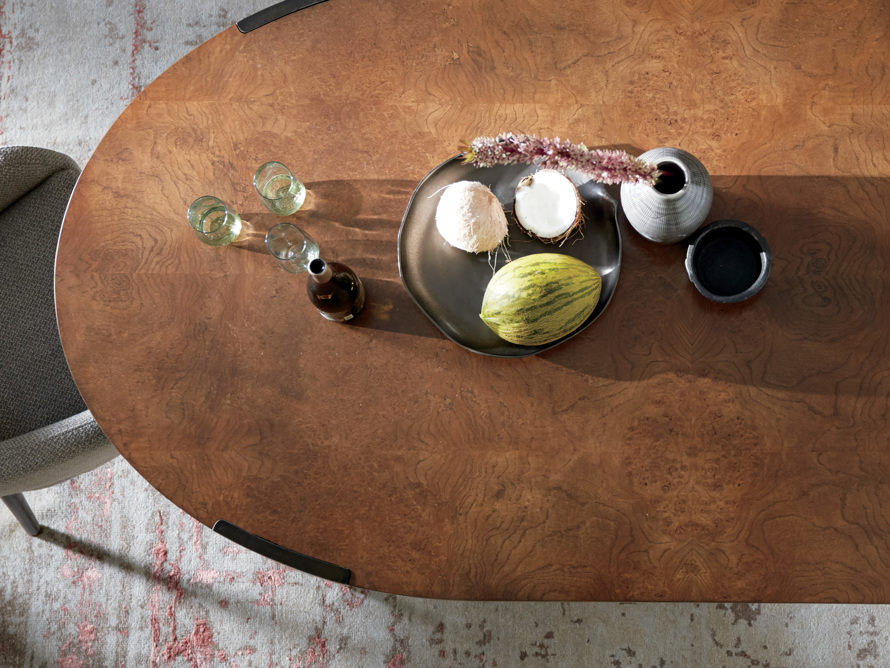 "Cordelia 88"" Oval Dining Table, slide 7 of 10"