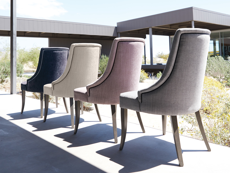 """Elisa 24"""" Dining Chair in Carbone Fog, slide 7 of 8"""