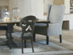 Halstead Dining Arm Chair in Westport Navy