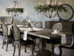 """Kensington Oak 72"""" Extension Dining Table in Earl Grey"""