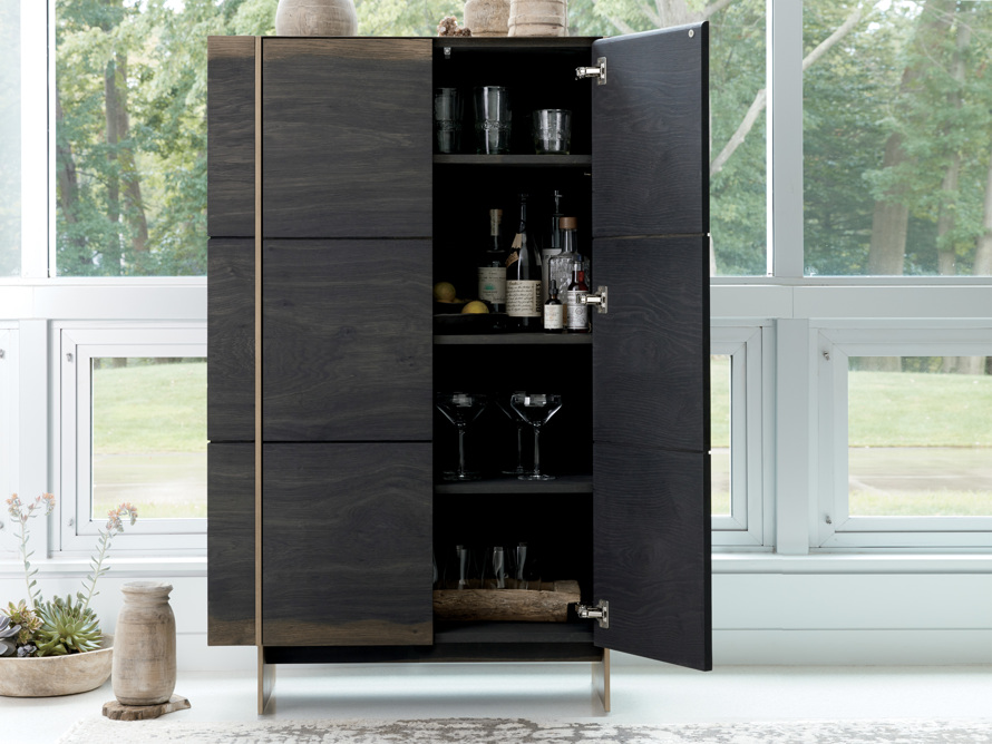 "Mihaela 37"" Bar Cabinet, slide 1 of 12"
