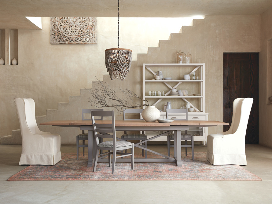 Scala Dining Side Chair in Ombra Grey, slide 2 of 10