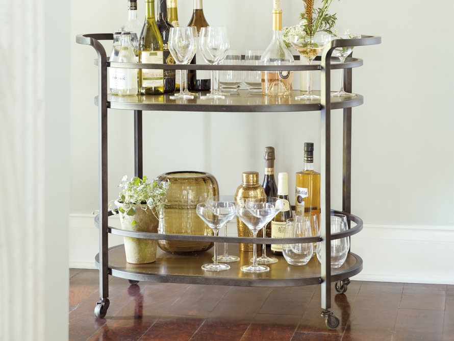 Serena Bar Cart, slide 1 of 4