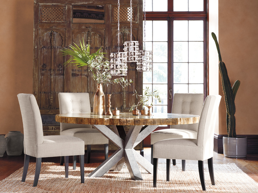 "Tao Upholstered 21"" Tufted Dining Side Chair"