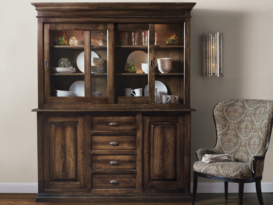 """Tuscany 74"""" Hutch and Buffet in Noceto, slide 8 of 9"""