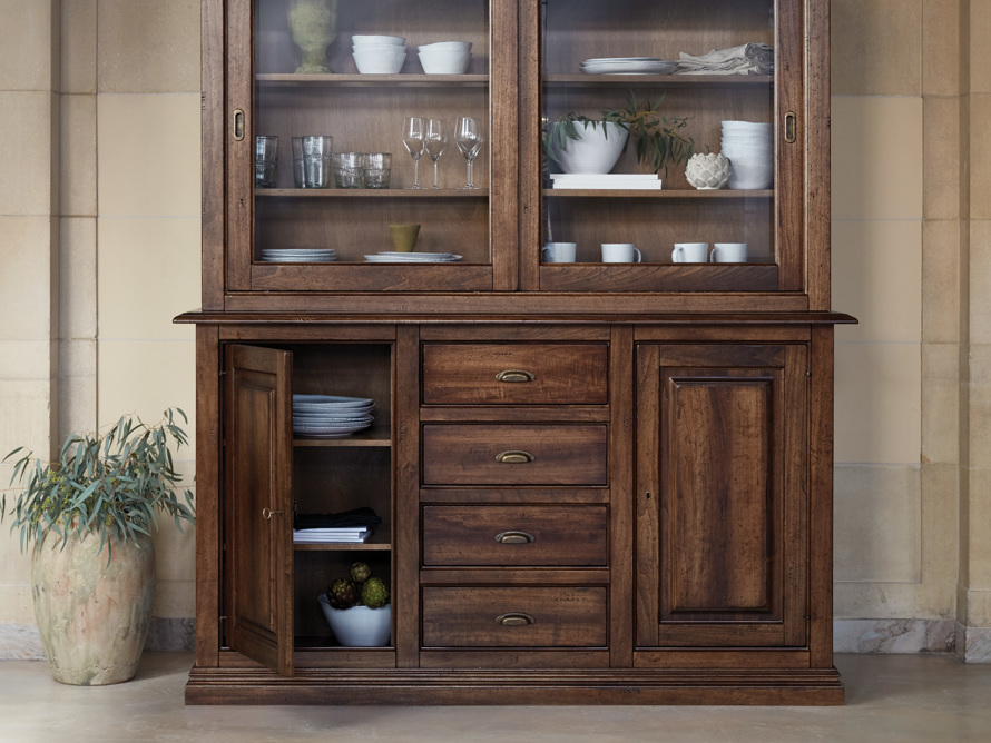 """Tuscany 74"""" Hutch and Buffet in Noceto, slide 9 of 9"""