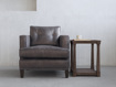 """Flanders 36"""" Upholstered Chair"""