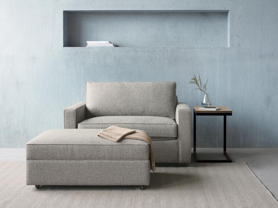 """Filmore 56"""" Upholstered Chair, slide 1 of 7"""